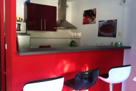 F2 50m² climatisé  bien situé et parking - Montpellier - Apartment