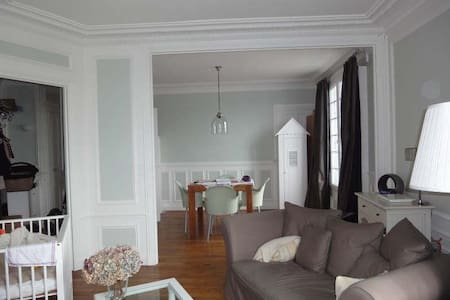 55sqm apartment 20min RER Paris - Maisons-Laffitte - Apartamento