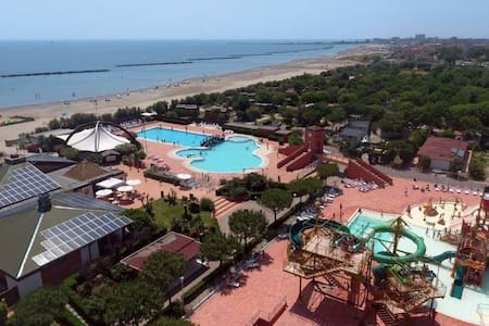 LODGE TENT Camping spiaggia e mare - Porto Garibaldi - Zelt