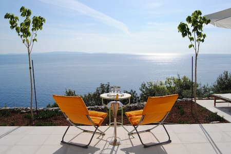 Olive Grove Villa w Private Beach - Leonidio