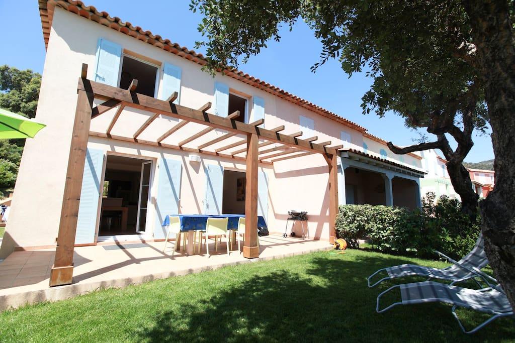 Villa les Coralines, Les Issambres