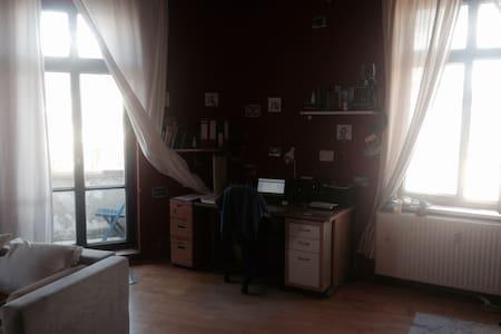 Schönes großes Altbau(WG)-Zimmer - Apartemen