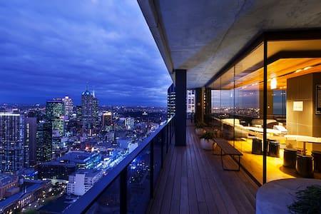 Amazing Sky Lounge 2 Melbourne CBD - Melbourne - Apartment