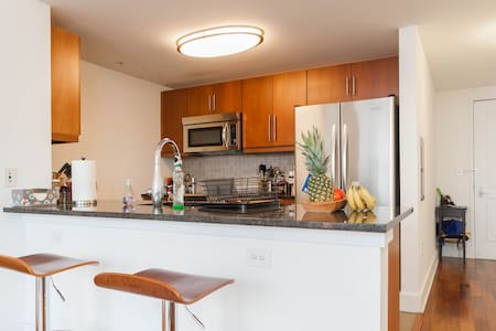 Your Own 1BR/1BA Luxury Condo Home - Jersey City - Apartment