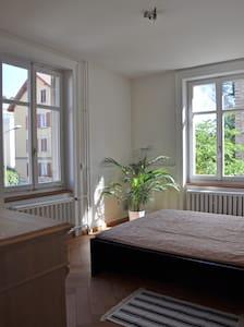 Sonniges Zimmer in ruhigem Quartier, nahe Zentrum - Apartemen