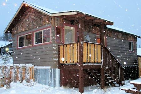 The Nordic Cabin #4: Lupine Village at Grand Lake - Grand Lake - Cabane