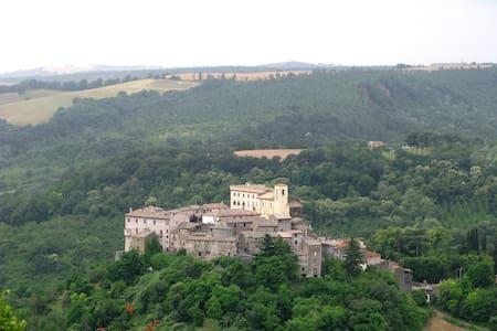 Magnifico appartamento affrescato  - Roccalvecce - Castello