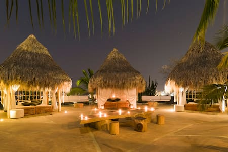 0/1, Luxury Hut, Glamping, Santa Marta, Colombia - Chatka