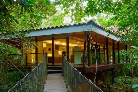 Casa del Árbol @Pueblo Verde - Lombház