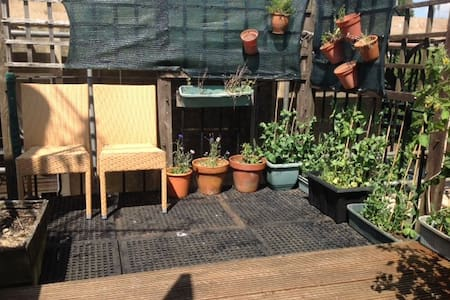 Beautiful attic with outdoor space - Hove - Apartment