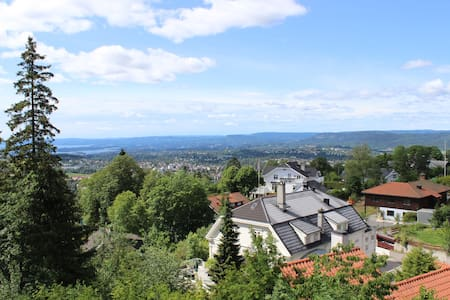 Spectacular view from Holmenkollen! - Oslo - House