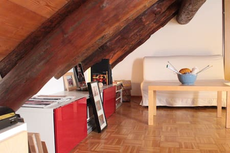 Cozy Rustical Nest in Old Town - Appartement
