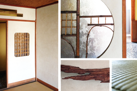 The Japanese-style guesthouse. - Hus