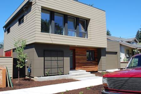 Passive Haus near Max Line