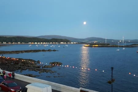 Beautiful Seafront Apartment - Millport - アパート