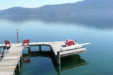 Executive Lakefront Cottage Vernon - Vernon - Cabin