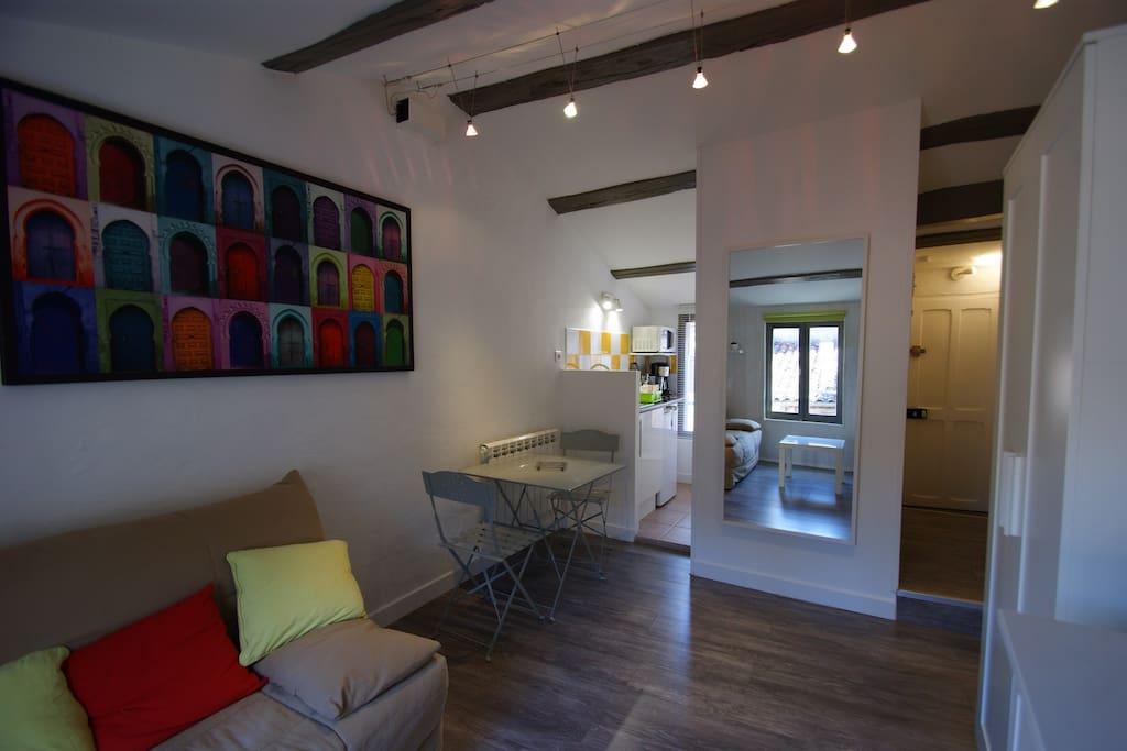 Studio Meubl Coeur De Ville Appartements Louer La