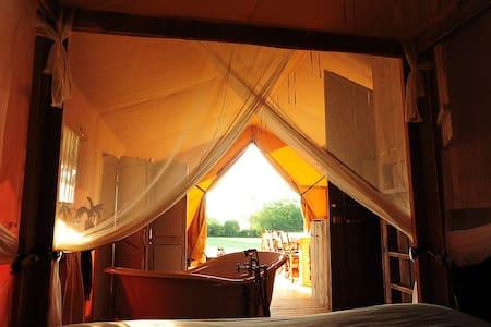 Luxury safari tents in Burgundy! - Khemah