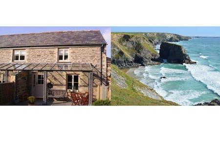 Charming Cornish barn near Padstow - Saint Merryn