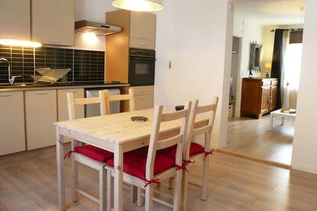 Joli T2 au calme, 50 m2, 4/5 pers. - Appartement