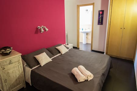 CASA ROSSA: Gelso, double room - Bed & Breakfast