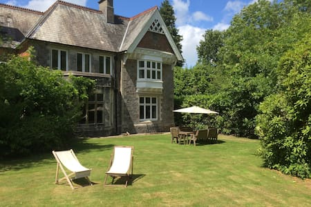 Country House with Bluebell Wood - Buckfastleigh - House