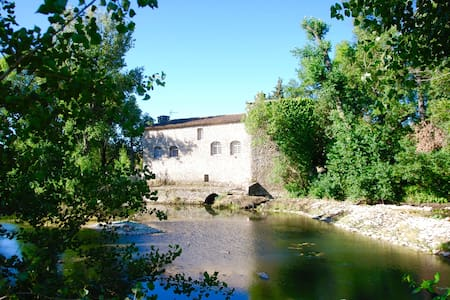18th Century Magnificently restored Mill - Orthoux-Sérignac-Quilhan - Casa