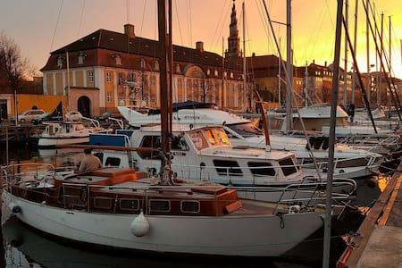 Romantisk båd-hjem i Christianshavn - Copenaghen