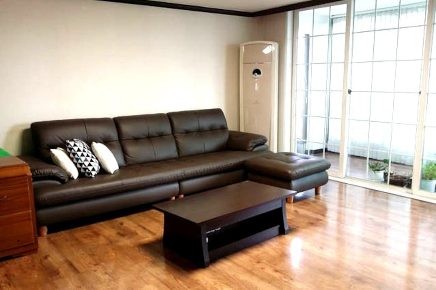 sofa in sitting room