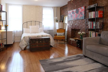 charming, warm, sun-drenched studio - Brooklyn - Appartement