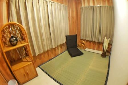 RoomC: 2min from Kawaguchiko sta. - Fujikawaguchiko - Huis
