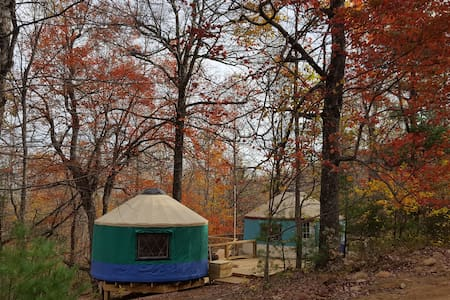 Yurt Life @ Mellowspring Family Farms - Floyd - Iurta