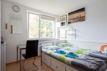 Quiet Private Room in Munich North - Lägenhet