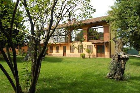Casa tra le vigne con piscina - Canale - Rumah
