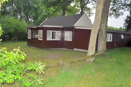 Zomerhuisje in Drenthe - Kisház