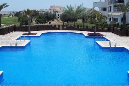 2 bedroom Penthouse  on Golf Resort - Sucina - Appartement