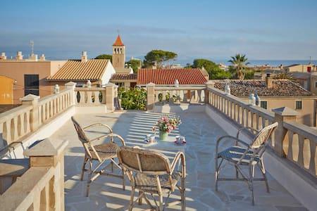 charmantes Haus Meernähe - Colonia de Sant Pere