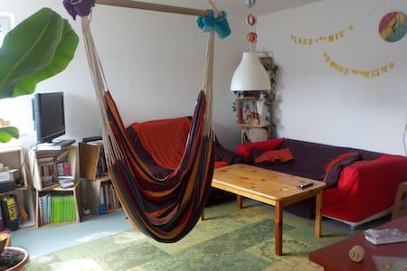 Matratze in unserem Wohnzimmer :-) - Freiburg im Breisgau