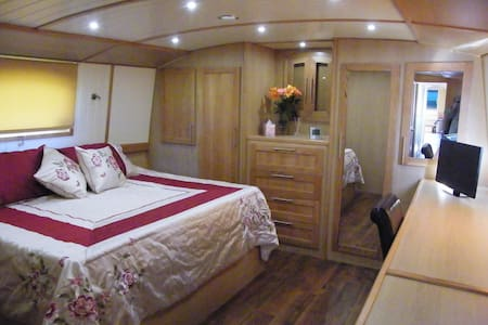 Hotel Boat - Super King Room with En-Suite - Abingdon - Boat