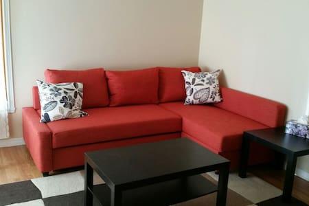 Cozy 2 bdm apt in quiet area - Apartment