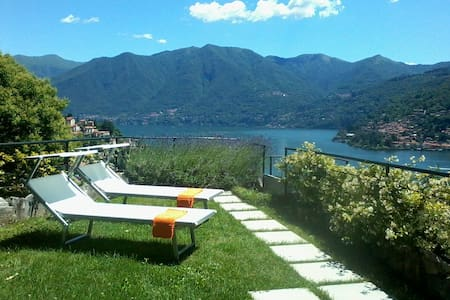 """Cà de Sass"" - Moltrasio, Como Lake - Apartment"