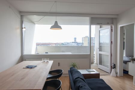 1br studio with fantastic balcony - Frederiksberg C - Apartment