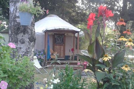 GardenHome Backyard Yurt Experience