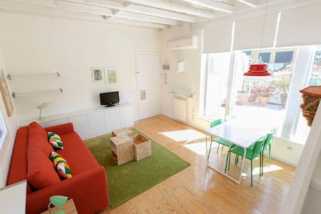 Cozy Loft with terrace - Chueca - Madrid - Apartment