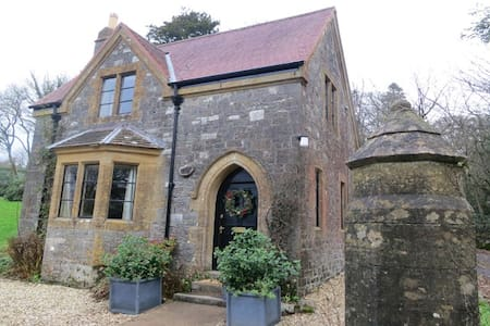 Cute Gate House Lodge - Huntsham Court - Casa