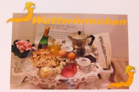 "FEWO ""Wattwürmchen"" inkl. Parkplatz - Appartement"
