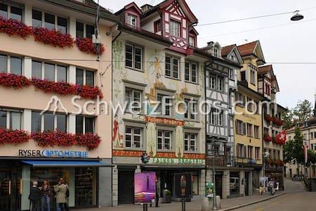 Historie der Altstadt, modern und ursprünglich - Sankt Gallen - Guesthouse