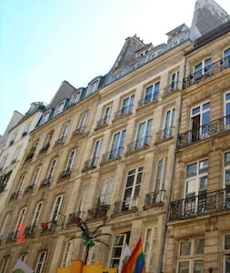 Heart of Paris (reception&bedroom) - Parigi - Appartamento