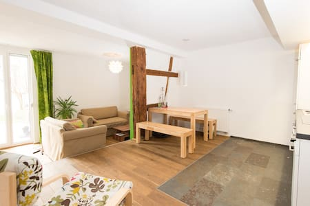 Big Apartment with Garden in Historic City Centre - Pis