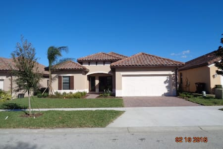 5 star bedroom poolhome in orlando - Haines City - House